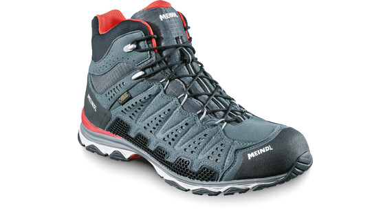 Meindl X-SO 70 Mid GTX Shoes Men Red/Anthracite